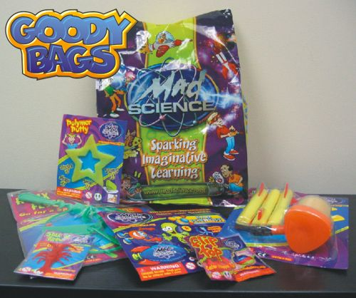 NY Kids Birthday Party Ideas Mad Science Of The MidHudson - Children's birthday goodie bags